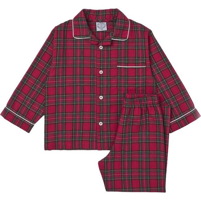 Cozy Christmas Pajama, Red Tartan
