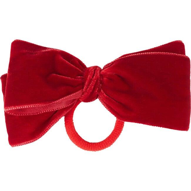 Velvet Bow Pony, Red
