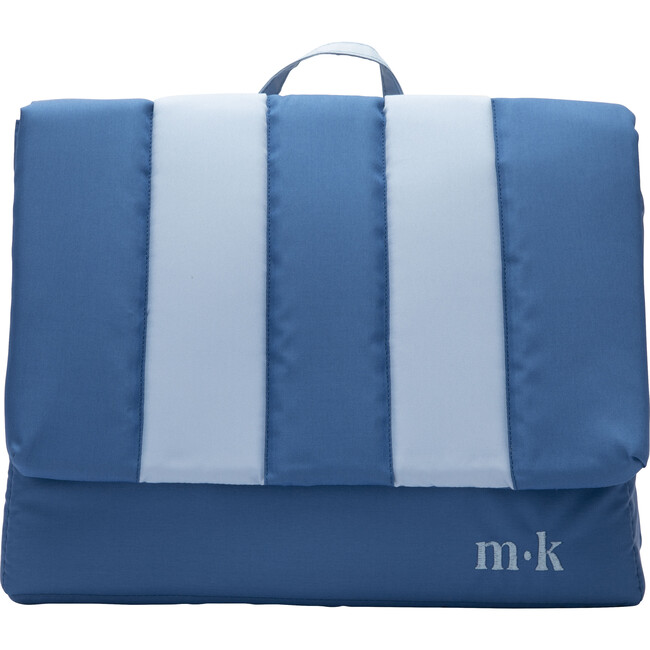 Blue Candy Cotton Big Backpack