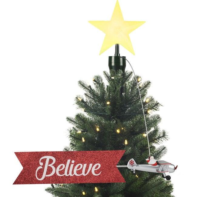 Animated Tree Topper, Biplane