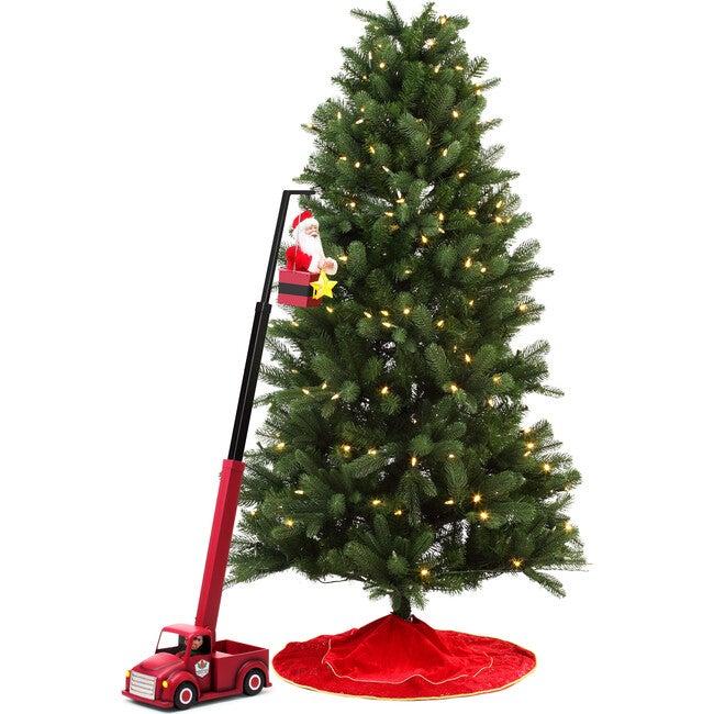 Cherry Picker Santa