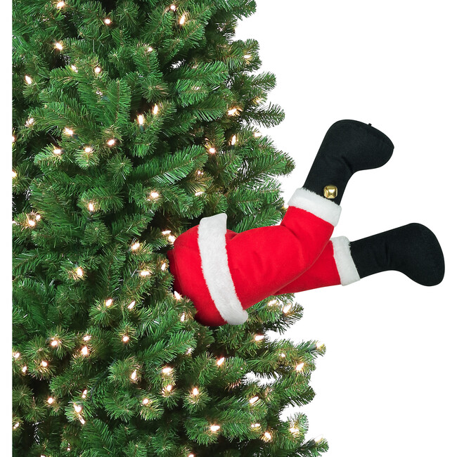 Indoor Animated Christmas Kickers, Santa