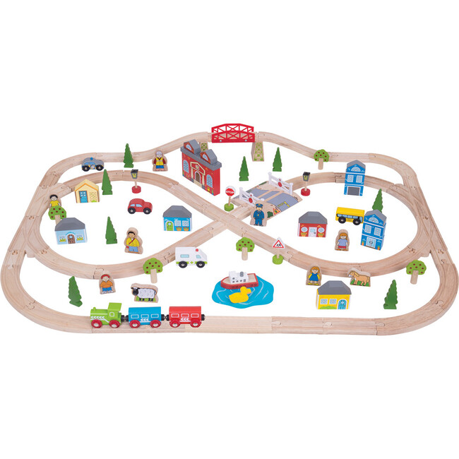 Town + Country Train Set - Transportation - 1