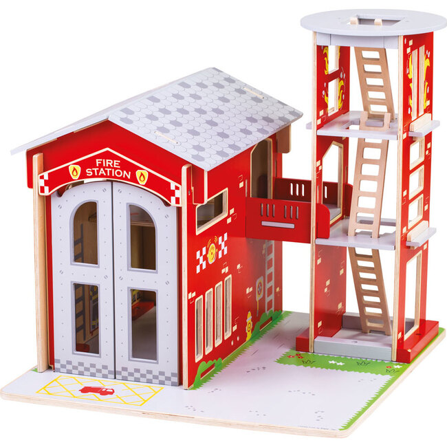 City Fire Station, Red