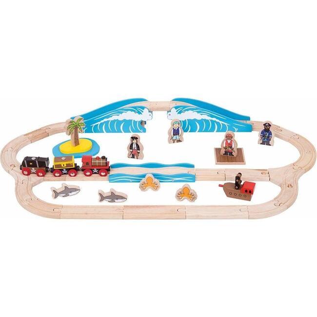 Pirate Train Set - Transportation - 1