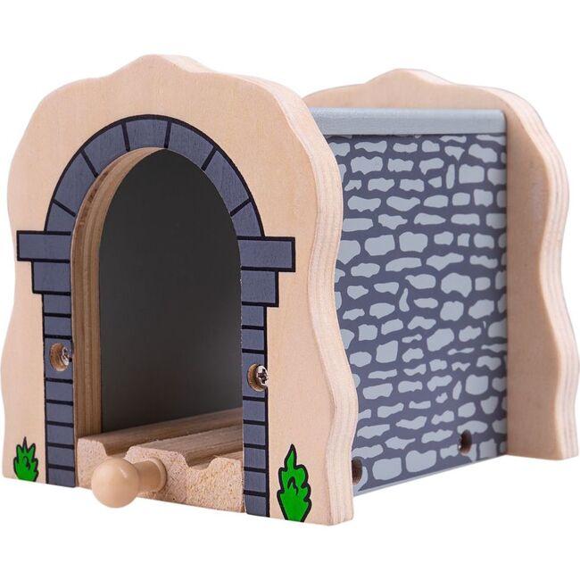 Brick Tunnel, Gray Stone