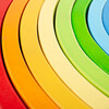 Large Stacking Rainbow - Stackers - 5