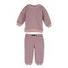 Baby Jones Sweat Set, Pink & Navy Stripe - Mixed Apparel Set - 1 - thumbnail
