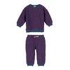 Baby Fuzzy Jones Sweat Set, Navy & Red Stripe - Mixed Apparel Set - 1 - thumbnail