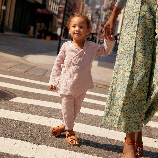 Baby Jaden Kimono Set, Lavender