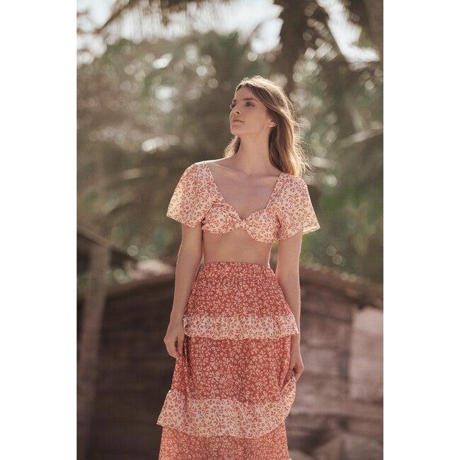 Maria Iran Skirt, Orange