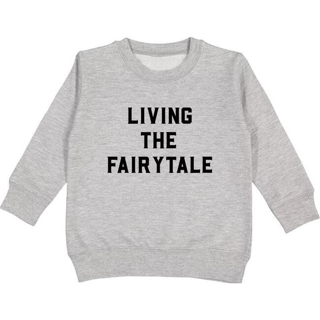 Living the Fairytale Pullover, Light Grey