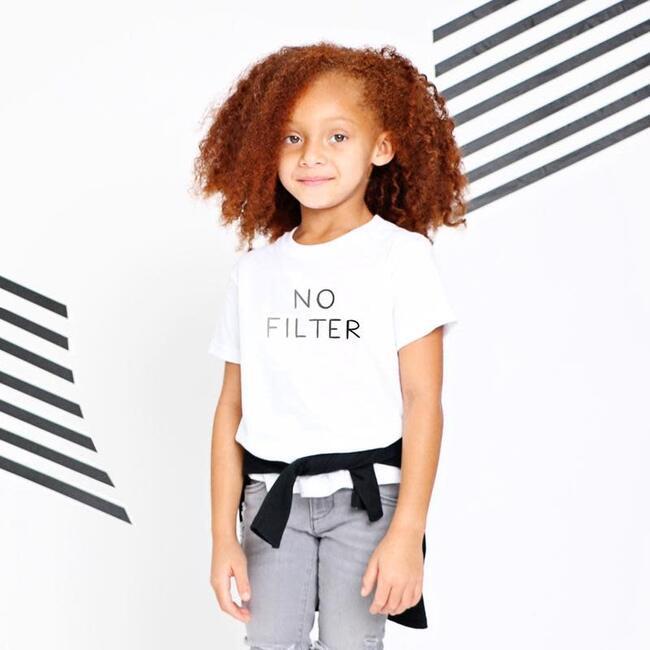 No Filter T-shirt, White