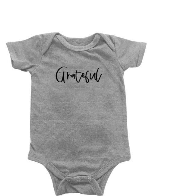 Grateful Bodysuit, Light Grey