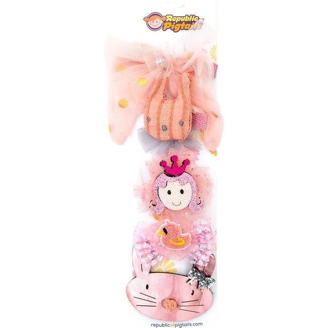 Pink Adelia Hair Assortments - Hair Accessories - 1