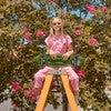 Simone Jumpsuit, Crystal Rose Pink - Jumpsuits - 4