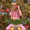 Simone Jumpsuit, Crystal Rose Pink - Jumpsuits - 5