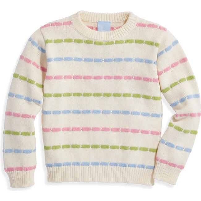 Rainbow Pullover, Pastel Stripes