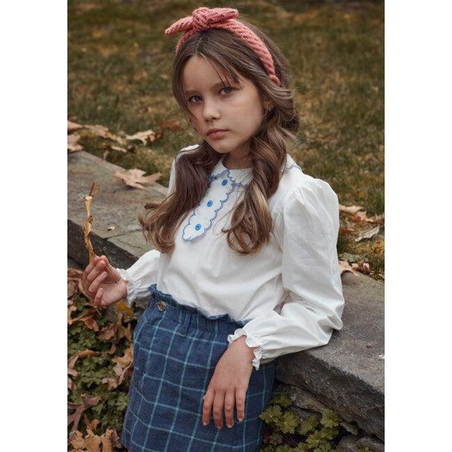 Paperbag Skirt, Moonlight Blue