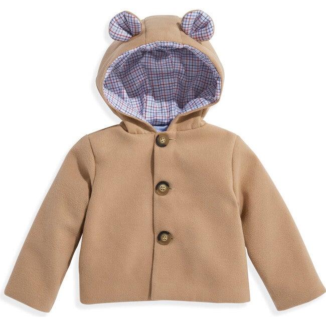 Mouse Coat, Camel with Ridgley - Jackets - 1