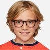 Kids Nash Glasses, Whiskey Tortoise - Blue Light Glasses - 4
