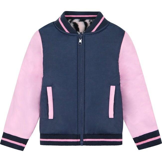 Reversible Bomber Jacket, Pink
