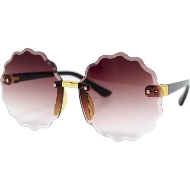 Frameless Round Sunglasses