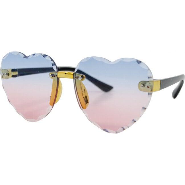 Frameless Heart Sunglasses