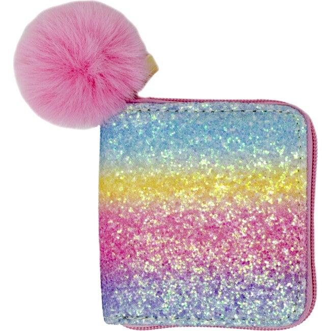 Bright Rainbow Glitter wallet