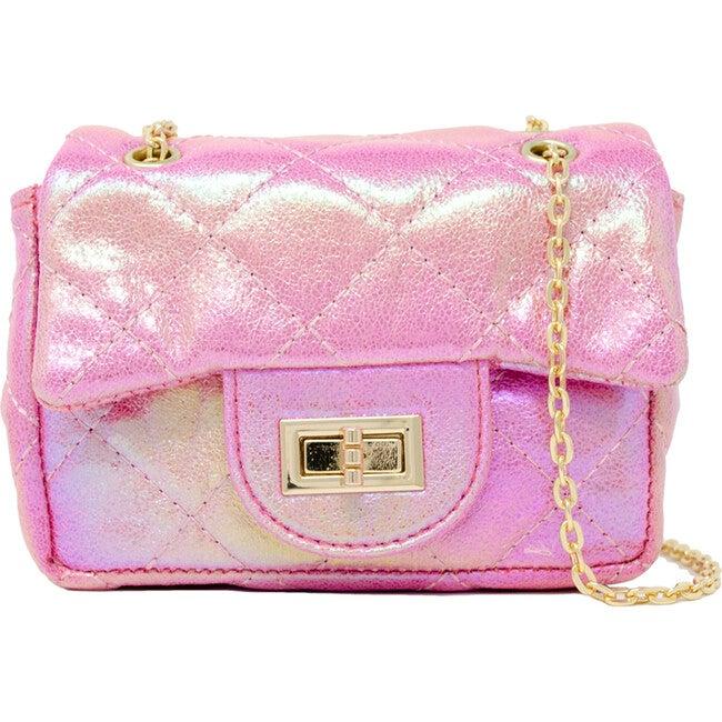 Classic Handbag, Pink - Bags - 1