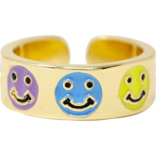 Happy Face Ring, Multi