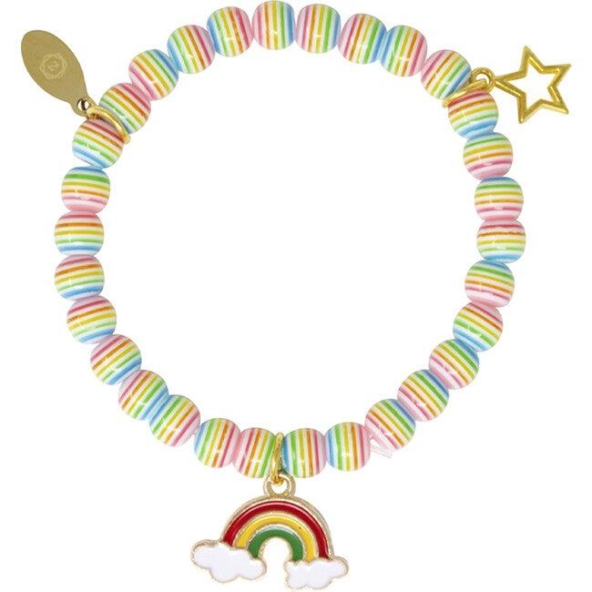 Rainbow Unicorn Bead Bracelet Set