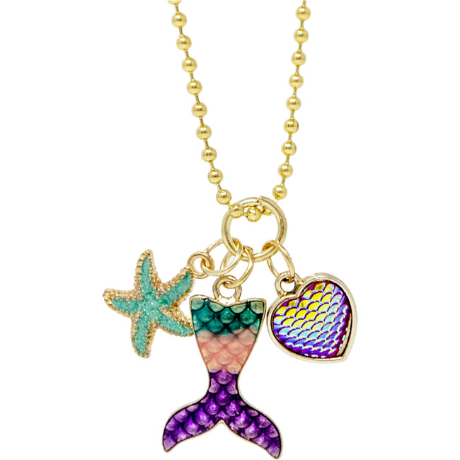 Fin, Star and Hert Necklace