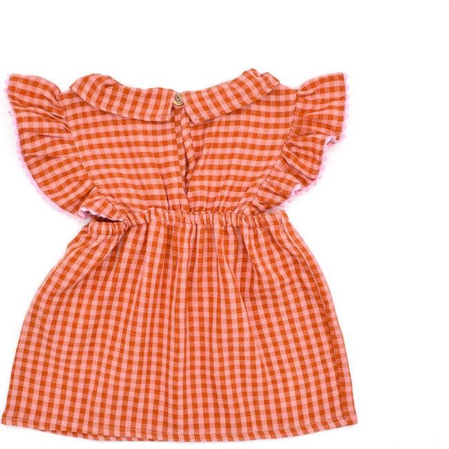 Mini Nora Jumper Skirt, Apricot