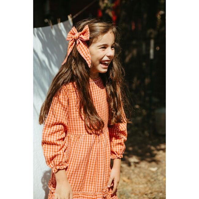 Lillian Girl Dress, Apricot