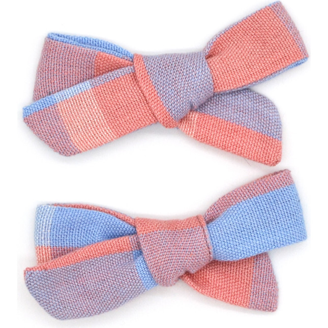 Folklore Small Bow Set, Shell Pink