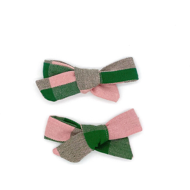 Folklore Small Bow Set Rosie Check