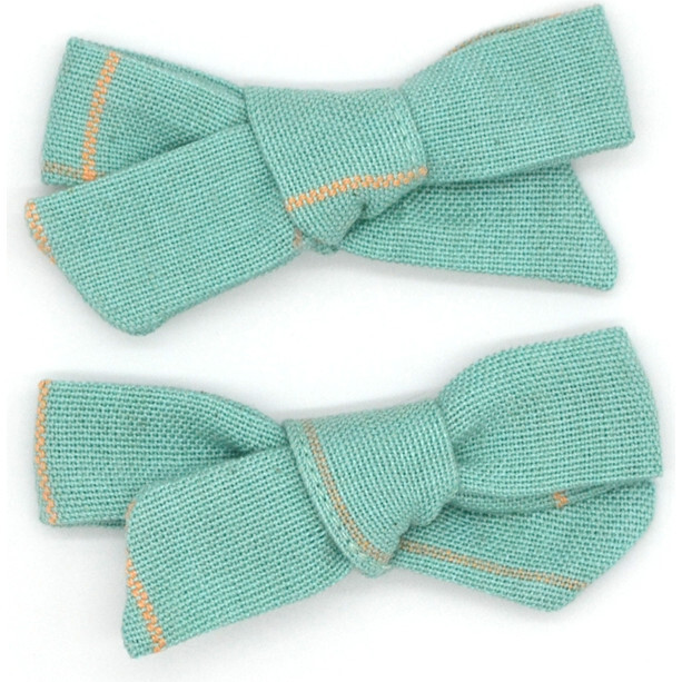Folklore Small Bow Set Mineral Turquoise