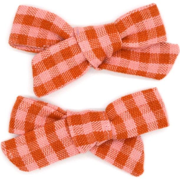 Folklore Small Bow Set Apricot