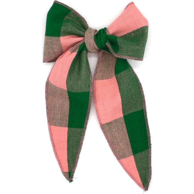 Folklore Large Bow, Rosie Check