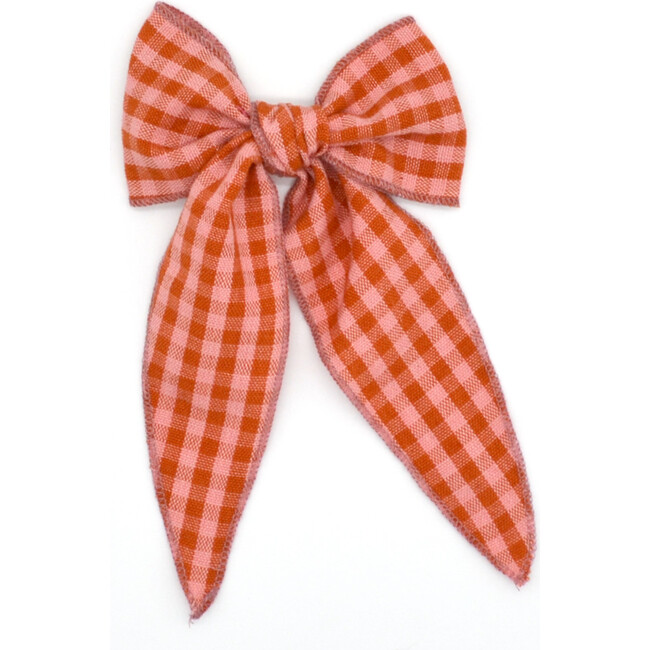 Folklore Large Bow, Apricot