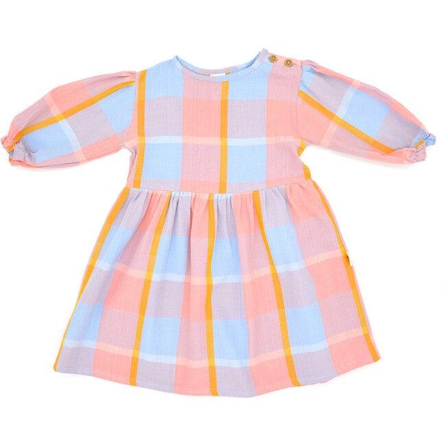Elise Girl Dress, Shell Pink