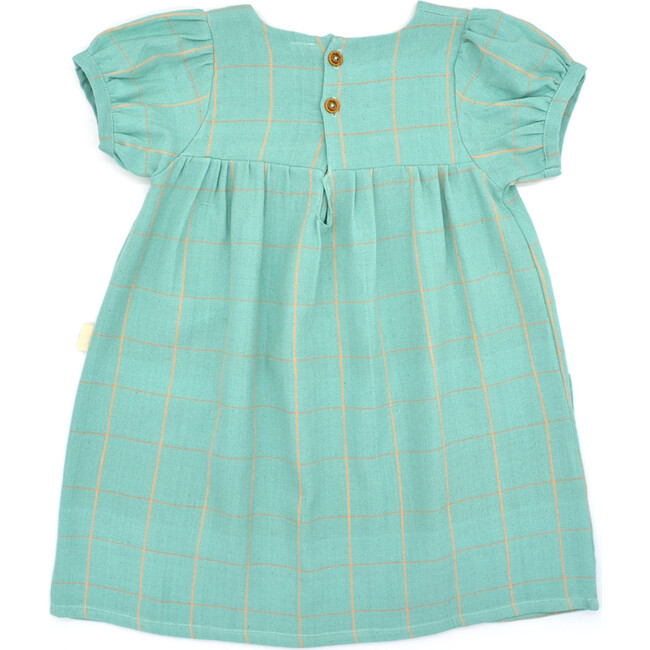 Brisa Girl Dress,  Mineral Turquoise
