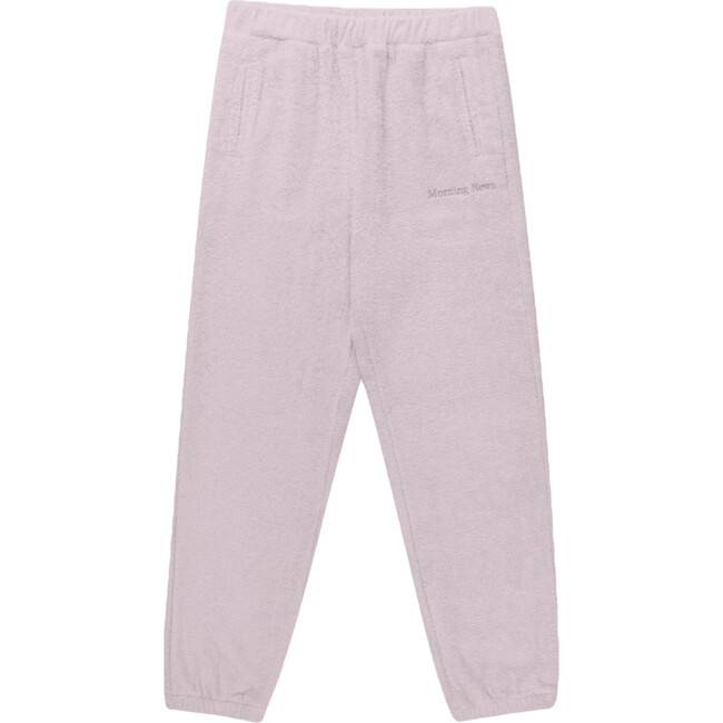 Women's Classic Terry Joggers, Marshmallow Pink