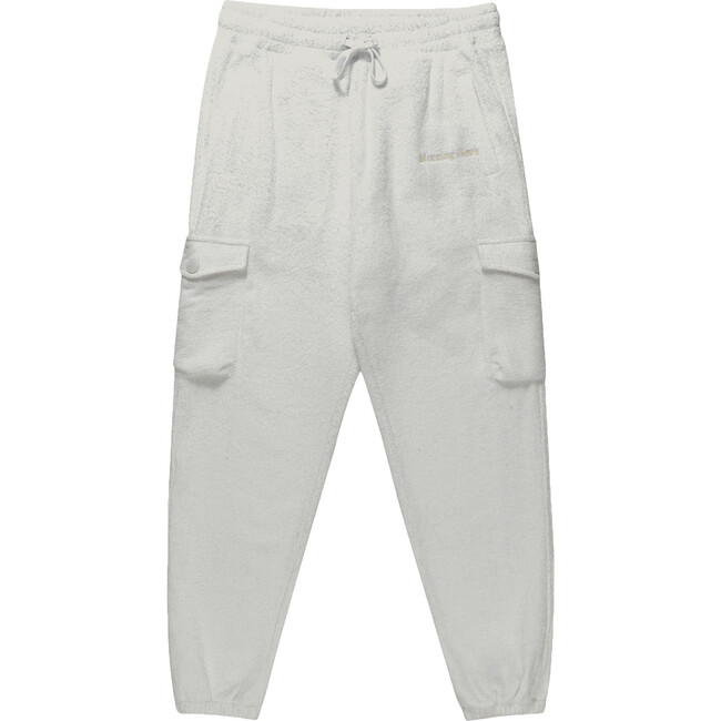 Adult Terry Cargo Joggers, Soft Sage