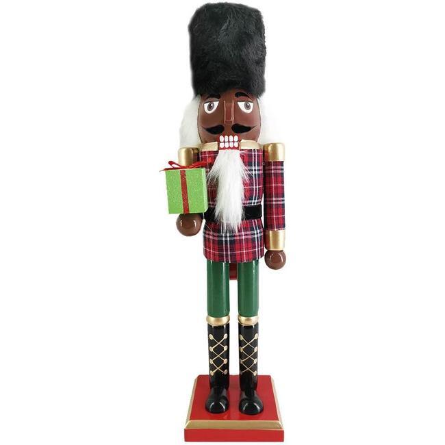 African American Nutcracker, Tartan Plaid