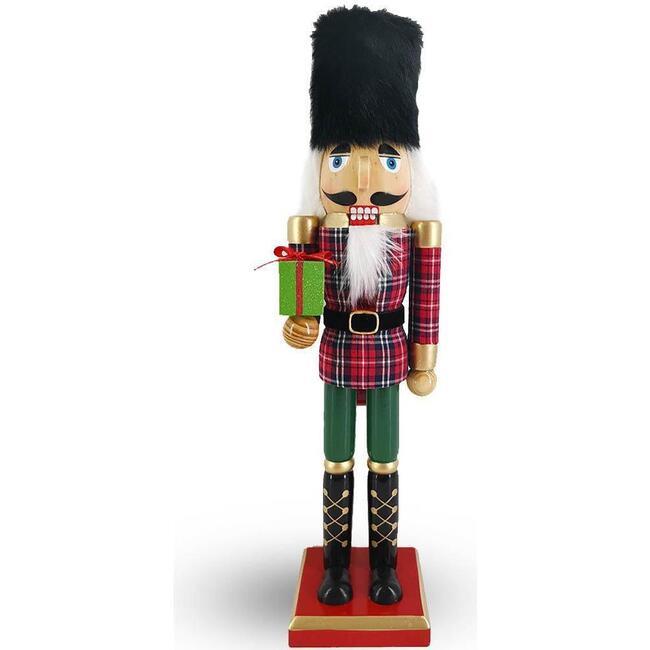 Christmas Nutcracker, Red/Green Plaid