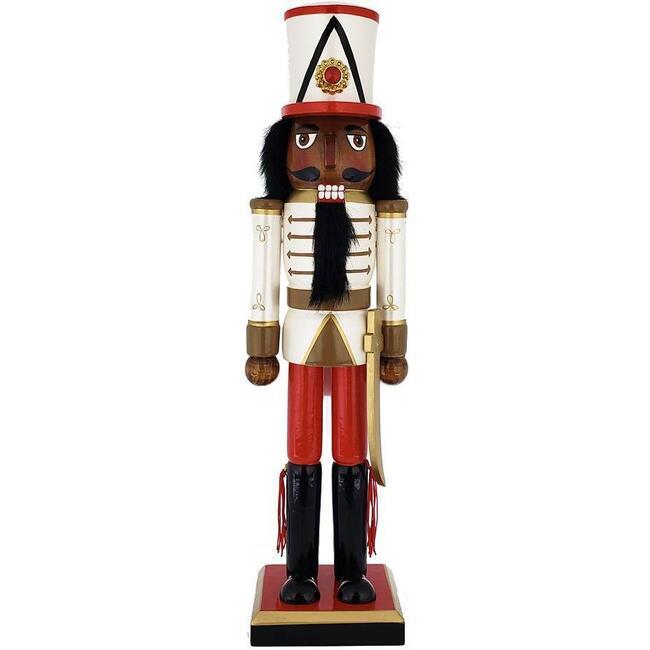 African American Nutcracker Soldier, Pearl - Nutcrackers - 1