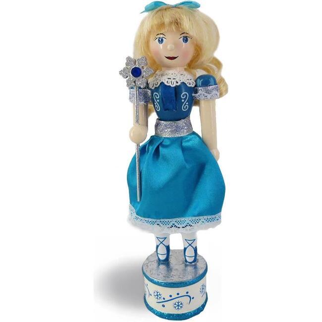 Snow Fantasy Clara Nutcracker, Blue
