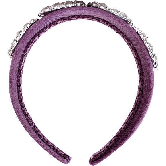 Treasure Headband, Purple